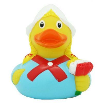 Dutch Farmer Girl Rubber Duck