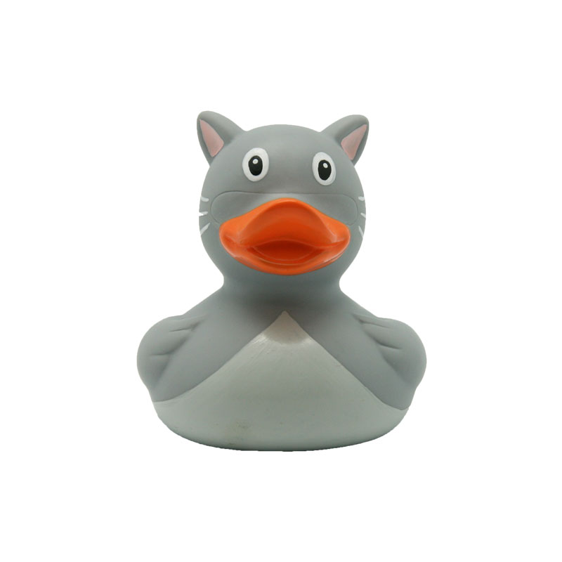 cat rubber duck
