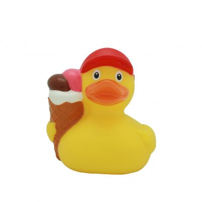 ice cream rubber duck front
