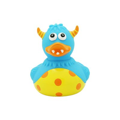monster blue rubber duck
