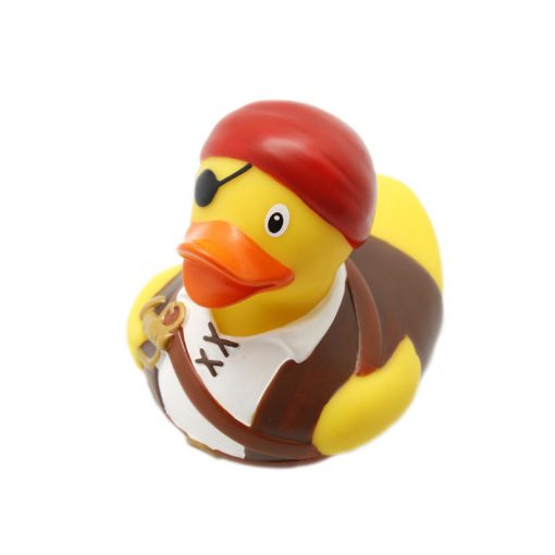 pirate rubber duck brown - Amsterdam Duck Store