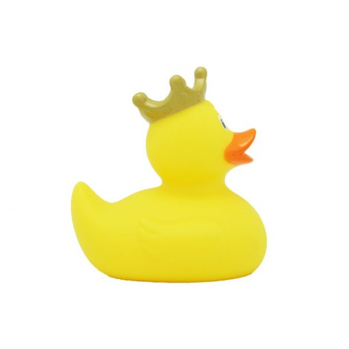 yellow crown rubber duck
