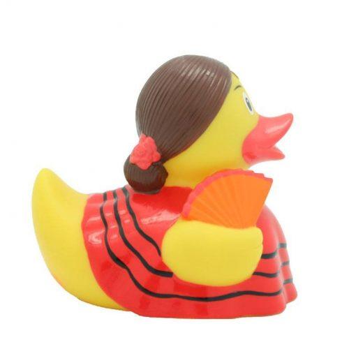 flamenco rubber duck