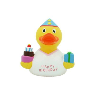 happy birthday girl rubber duck