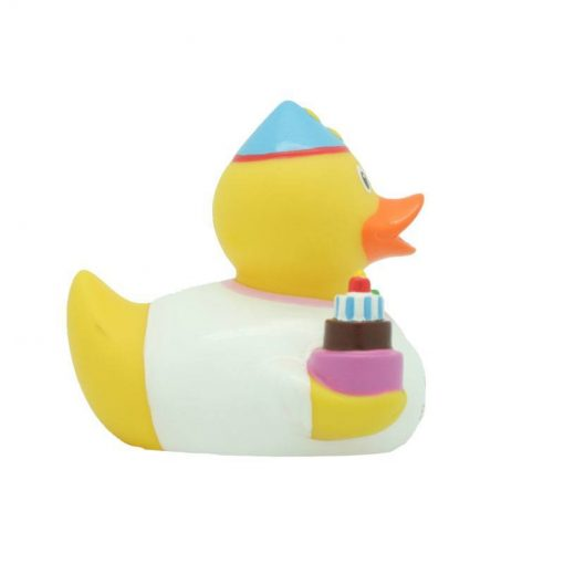 happy birthday girl rubber duck