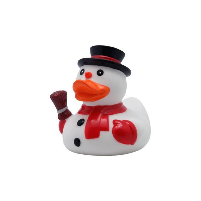 snowman rubber duck