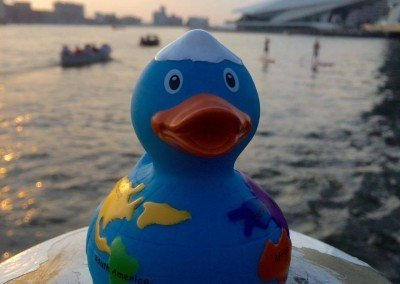 Traveler Rubber Duck