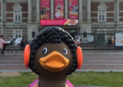 Music Lover Rubber Duck