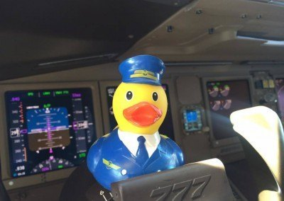 Pilot Rubber Duck