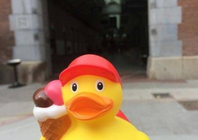 Ice cream Rubber Duck