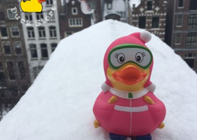 It's snowing in Amsterdam! Finally... @ Herengracht, Amsterdam