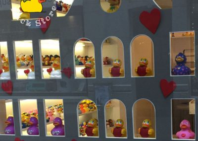 Getting ready for a lovely Valentine's Day @ Amsterdam Duck Store