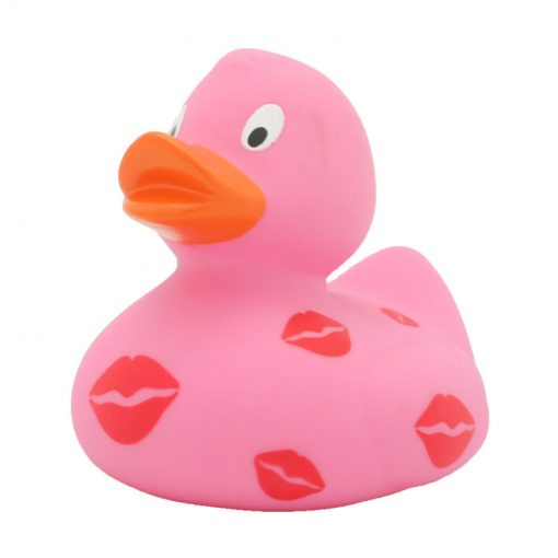 kisses rubber duck