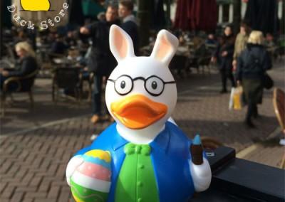Easter Bunny Rubber Duck Leidseplen Egg Hunt
