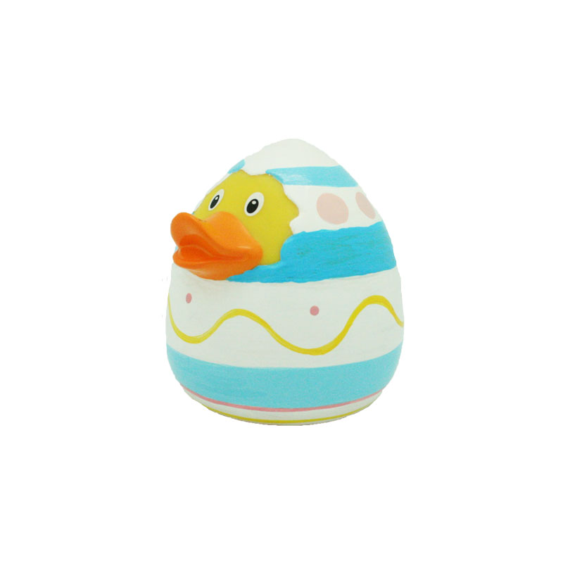 Easter egg rubber duck