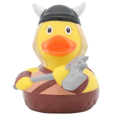 Viking Woman Rubber Duck Front Amsterdam Duck Store