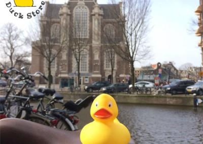 Yellow Rubber Duck Westertoren