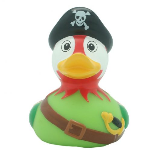 pirate parrot rubber duck Amsterdam Ducks Store