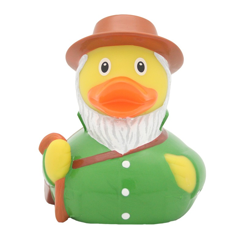 Shepherd rubber duck
