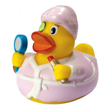 Beauty Rubber Duck
