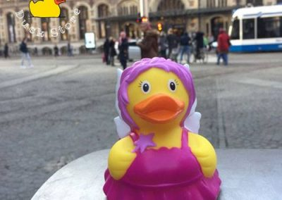 Pixie rubber duck Magna Plaza Amsterdam Duck Store