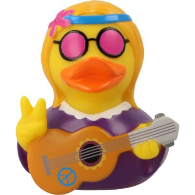 Hippie Woman Rubber Duck