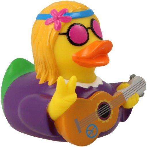 Hippie Woman Rubber Duck