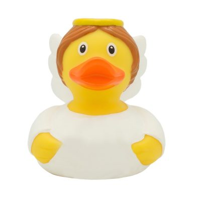 Guardian Angel White Rubber Duck Amsterdam Duck Store